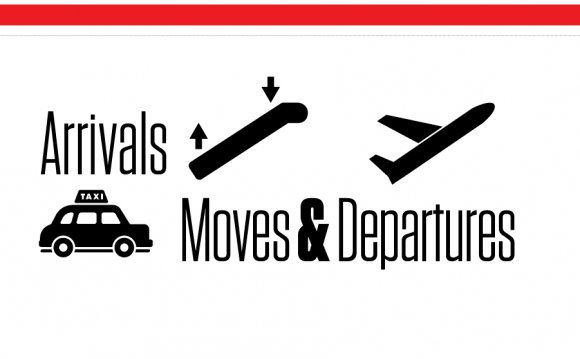 Moves, departures, jobs