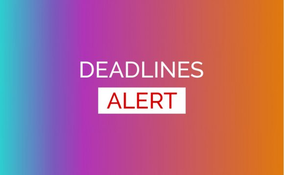 Application Deadlines Closing