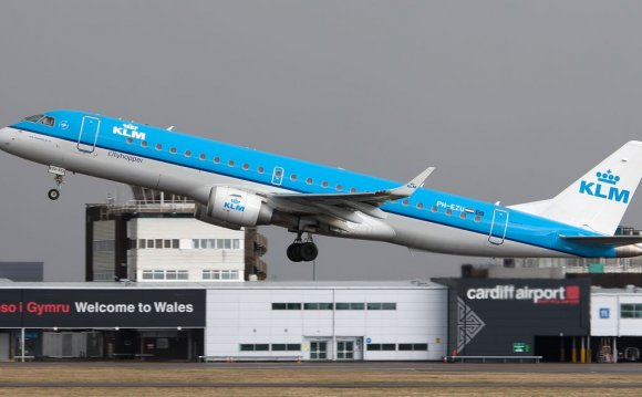 Cardiff and St Athan airports