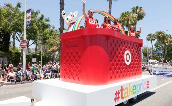 Bullseye at the LA Pride