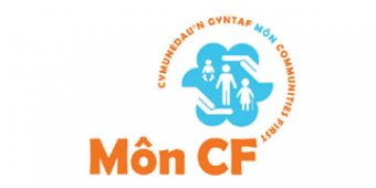Môn Communities First* logo