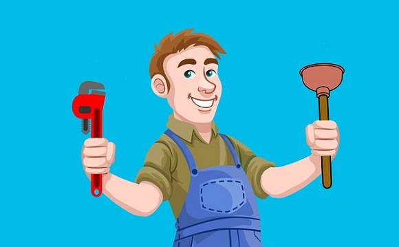 Plumber: one of the well-paid professions