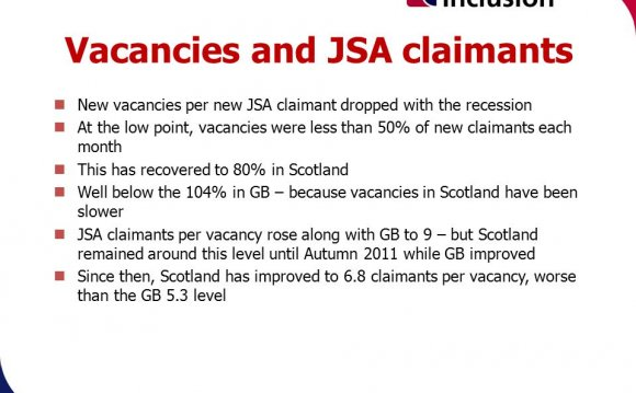 Vacancies in Scotland