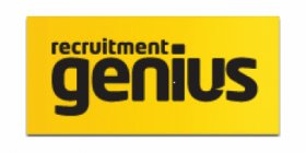 Recruitment Genius logo design