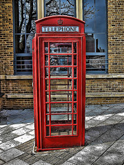 red telephone booth in the uk