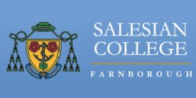 Salesian university Farnborough* logo design