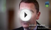 Andrew Weighton, Graduate Recruitment, PwC
