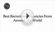 Best Recruitment Agencies From Around The World