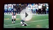 Caleb Sturgis kicks 53 yard field goal career long