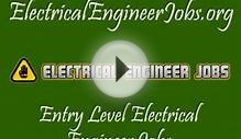 Entry Level Electrical Engineer Jobs