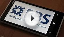 Official Royal Bank of Scotland Windows Phone app now
