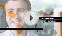 Promotional video for an International Graduate