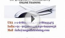 SAP QM QUALITY MANAGEMENT ONLINE TRAINING