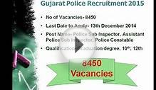 Sarkari Naukri 2014 in Gujarat Latest December Govt Jobs