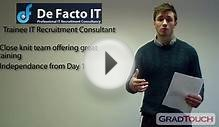 Trainee IT Recruitment Consultant - Defacto IT